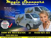Magic Spanners offer Mobile Mechanic Services in Brisbane