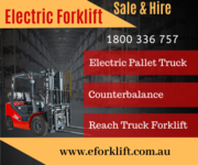 Electric Forklift Hire - Sale in Perth & Brisbane