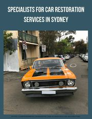 Specialists for Car Restoration Services in Sydney