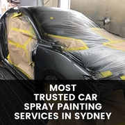 Most Trusted Car Spray Painting Services in Sydney