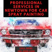 Professional Services in Newtown for Car Spray Painting