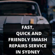Fast,  Quick and Friendly Smash Repairs Service in Sydney