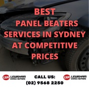 Best Panel Beaters Services in Sydney at Competitive Prices