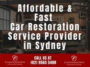 Affordable & Fast Car Restoration Service Provider in Sydney