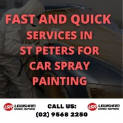 Fast and Quick Services in St Peters for Car Spray Painting