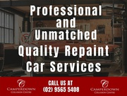 Professional and Unmatched Quality Repaint Car Services