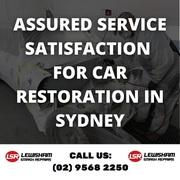 Assured Service Satisfaction for Car Restoration in Sydney