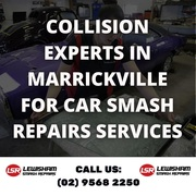 Collision Experts in Marrickville for Car Smash Repairs Services