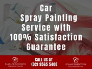 Car Spray Painting Service with 100% Satisfaction Guarantee