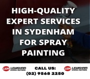 High-Quality Expert Services in Sydenham for Spray Painting