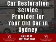 Car Restoration Service Provider for Your Old Car in Sydney