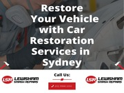Restore Your Vehicle with Car Restoration Services in Sydney