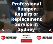 Professional Bumper Repairs or Replacement Service in Sydney