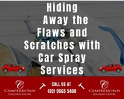 Hiding Away the Flaws and Scratches with Car Spray Services