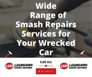 Wide Range of Smash Repairs Services for Your Wrecked Car
