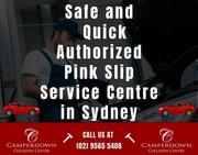Safe and Quick Authorized Pink Slip Service Centre in Sydney