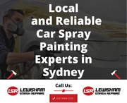 Local and Reliable Car Spray Painting Experts in Sydney