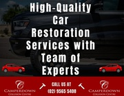 High-Quality Car Restoration Services with Team of Experts