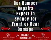 Car Bumper Repairs Expert in Sydney for Front or Rear Damage