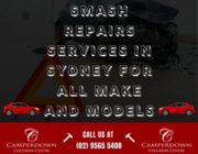 Smash Repairs Services in Sydney for All Make and Models